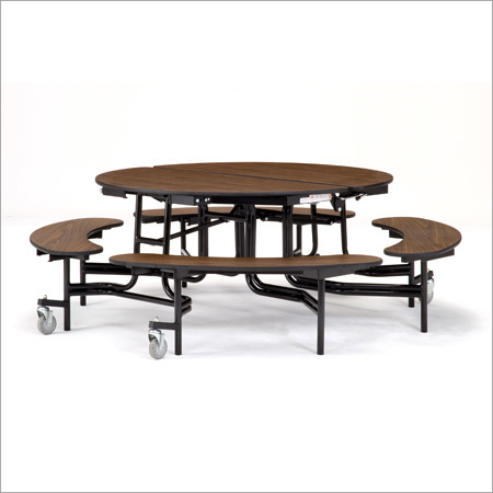 Round Table With Benches