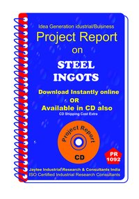 Steel Ingots manufacturing Project Report eBook