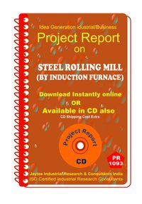 Steel Rolling Mill (By Induction Furnace )manufacturing eBook