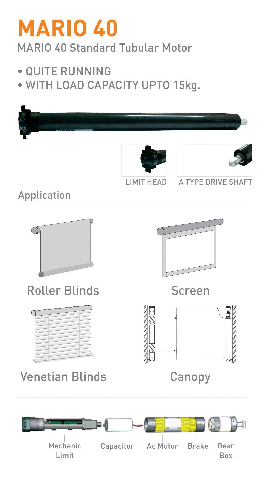 Motorised Window Blind