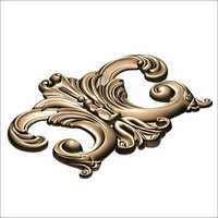 3D Carving Brass Aluminium Copper