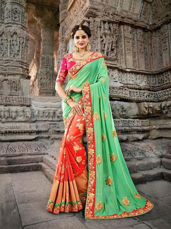 Latest saree aloukik ameya 901 to 909 catalog wholesale in surat