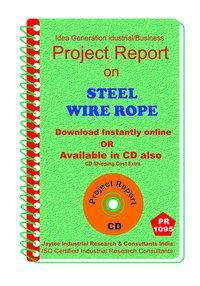 Steel Wire Rope manufacturing Project Report eBook