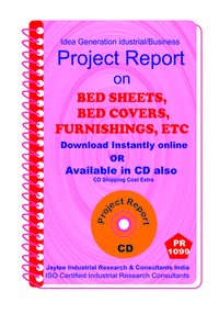 Bed Sheets, Bed Covers, Furnishings , etc manufacturing eBook
