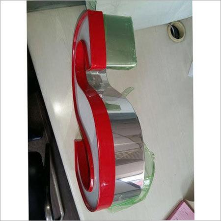 Aluminum Trim Cap Letter Sign