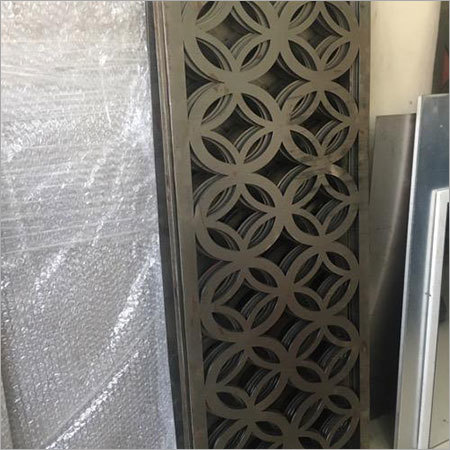 Laser Cutting Steel Jali