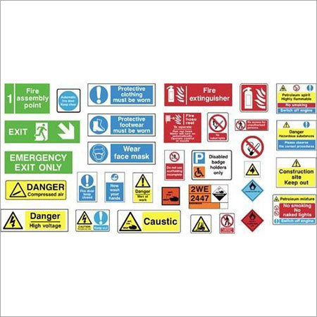 Photoluminescent Safety Signages
