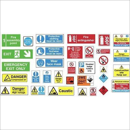 Photoluminescent Safety Signages