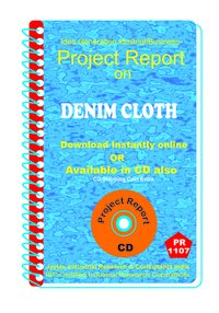 Denim Cloth manufacturing Project Report ebook