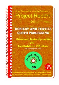 Hosiery and Textile Cloth Processing manufacturing ebook