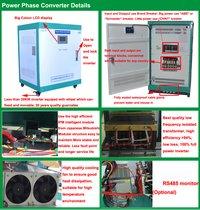Single Phase 110v To 3 Phase 220v Ac Power Supply