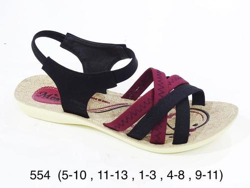 PU Ladies Flat Sandals