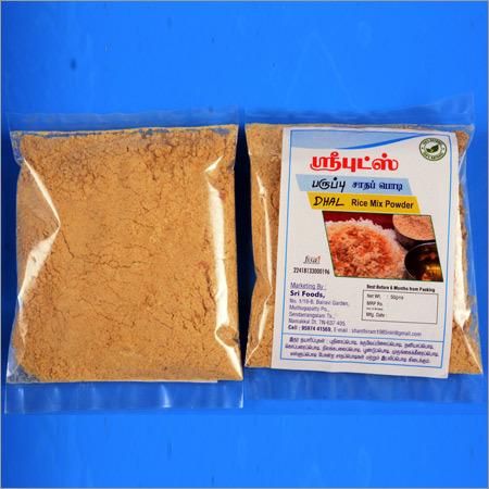 Dhal Rice Mix Powder