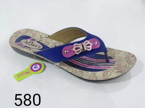 Ladies Fancy PU Slipper