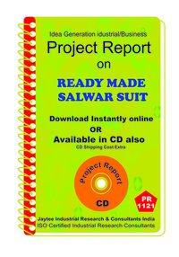 Ready made Salwar Suit manufacturing ebook