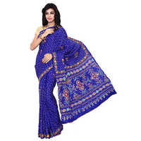 Bandhani Art Silk Saree
