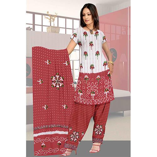 Gujarati Bandhani Suits