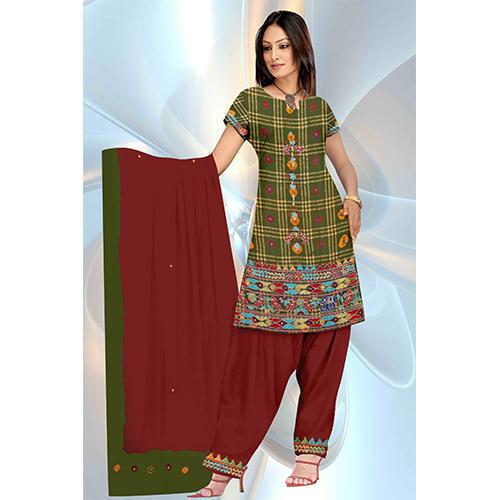 Bandhani Cotton Silk Suits