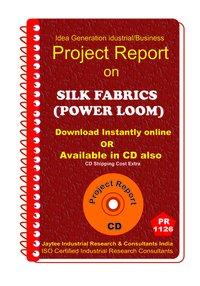 Silk Fabrics (Power Loom) manufacturing ebook