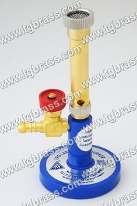 Laboratory Bunsen Burner with Needle Valve Type Tap