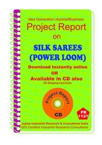 Silk Sarees (Power Loom) manufacturing ebook
