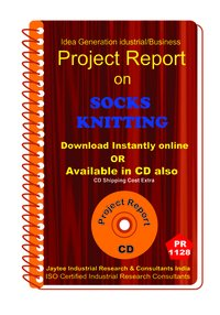 Socks Knitting manufacturing Project Report ebook