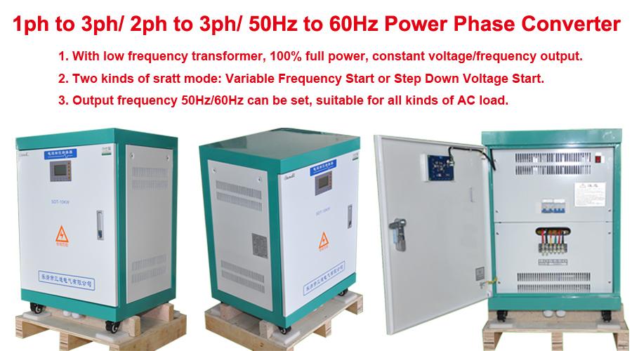 Split Phase to 3 Phase Converter