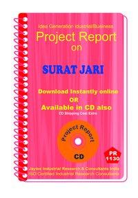 Surat Jari manufacturing Project Report ebook