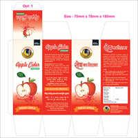 Apple Cider Vinegar Juice