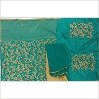Ladies Semistitch Designer Green Suit