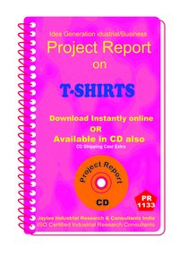 T-Shirts manufacturing Project Report ebook