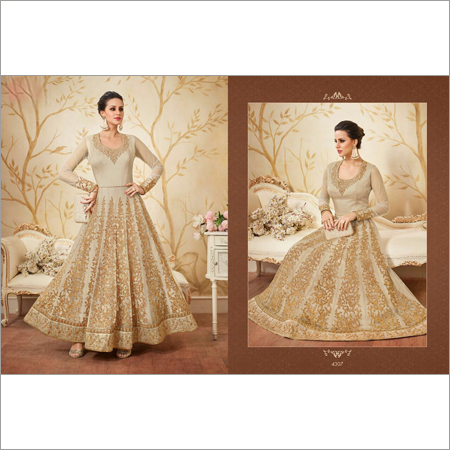 Designer Anarkali With Heavy Embroidery Suit