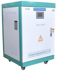 10KW 3 Phase 220V 60Hz to 3 Phase 380V 50hz voltage converter