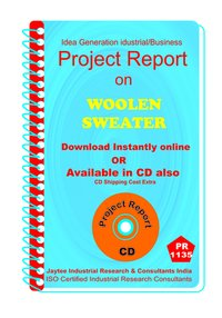 Woolen Sweater manufacturing Project Report ebook