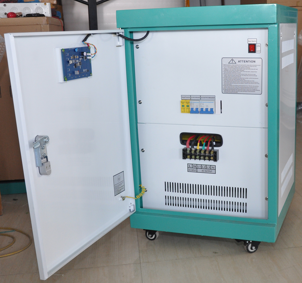 10kw single Phase To Three Phase Frequency Converter