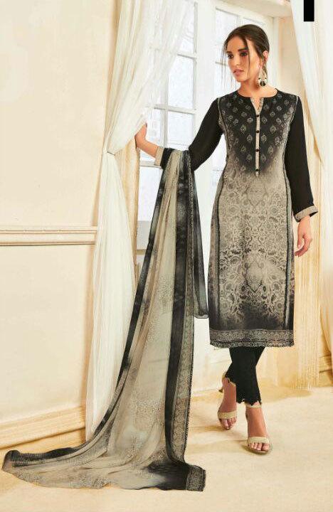 Surat sethnic dealer suits in dark dull colors pakistani style