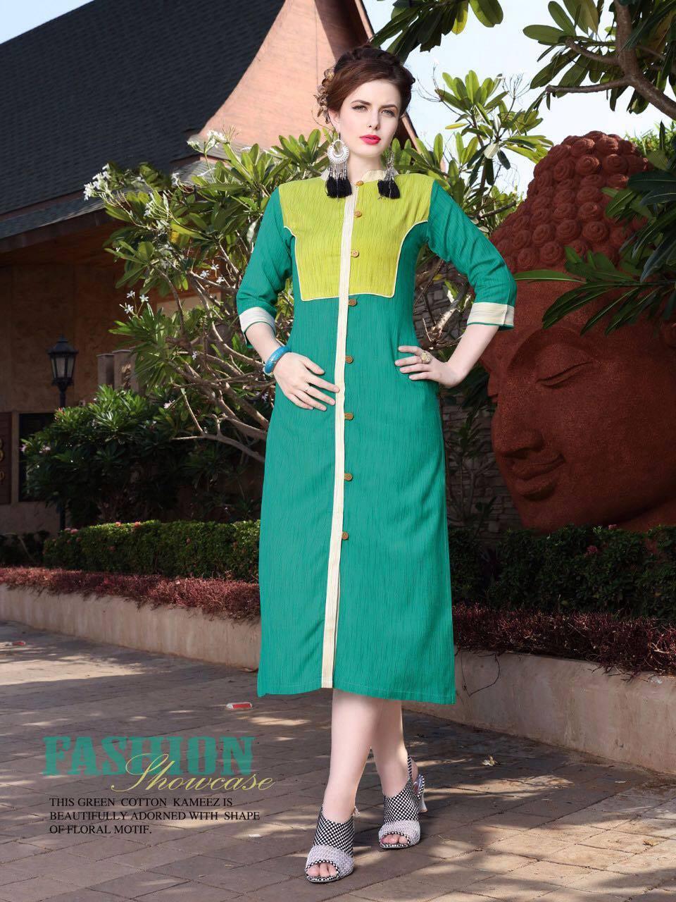 Ladies 6001-6007 khadi kurti catalog buy now