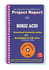 Boric Acid II manufacturing Project Report eBook
