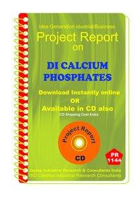 DI Calcium Phosphates manufacturing Project Report ebook