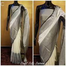 Ladies Tussar Silk Saree (Satvik Silk)