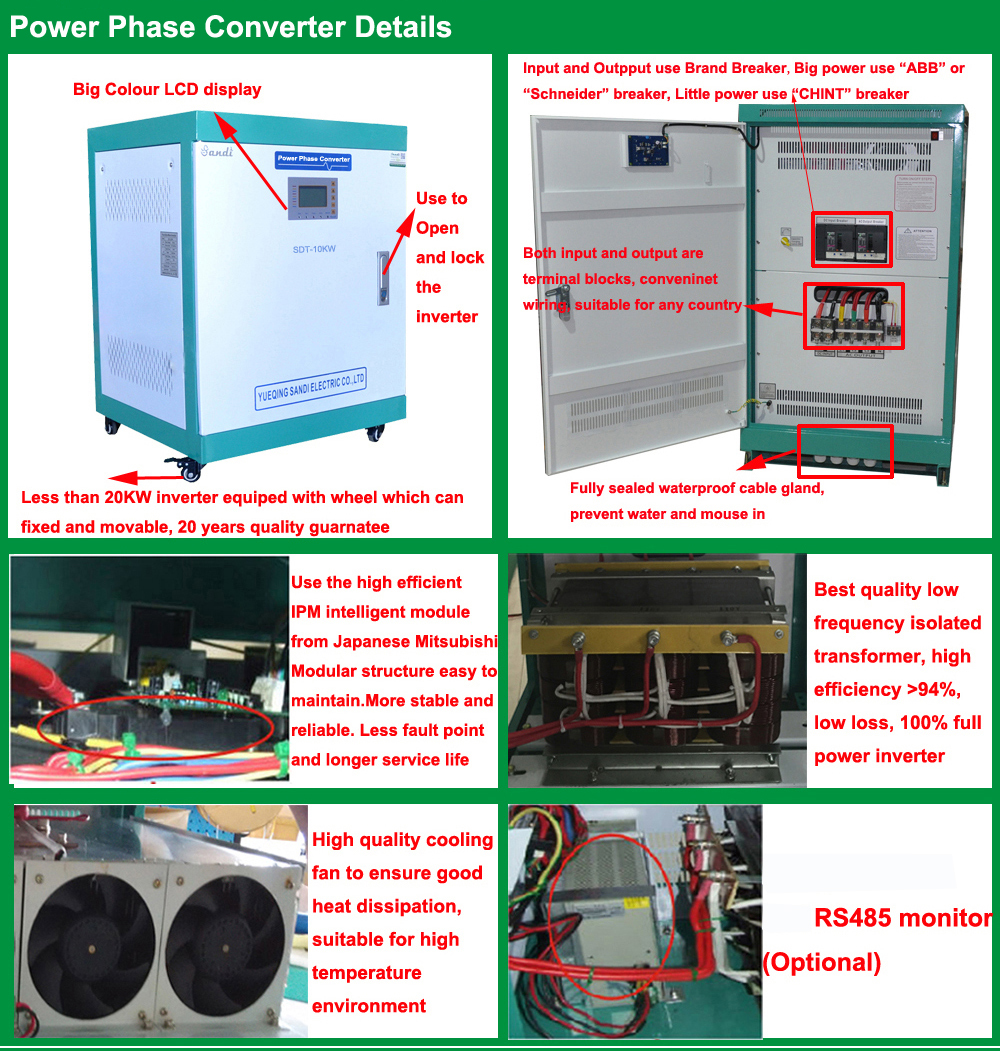 1 Phase Input Output 50Hz 60Hz Frequency Inverter