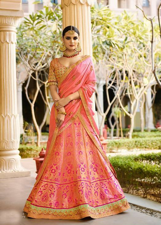 Buy Royal Virasat 13139 to 13147 handwork bridal lehenga wholesale