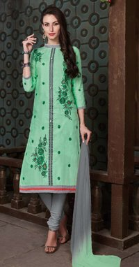 Sethnic poly cotton cheap dress material wholesale dealer