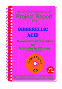 Gibberellic Acid manufacturing Project Report ebook