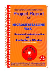 Microcrystalline Wax manufacturing Project Report ebook