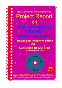 Mineral Water and Pet Bottles Plant manufacturing ebook