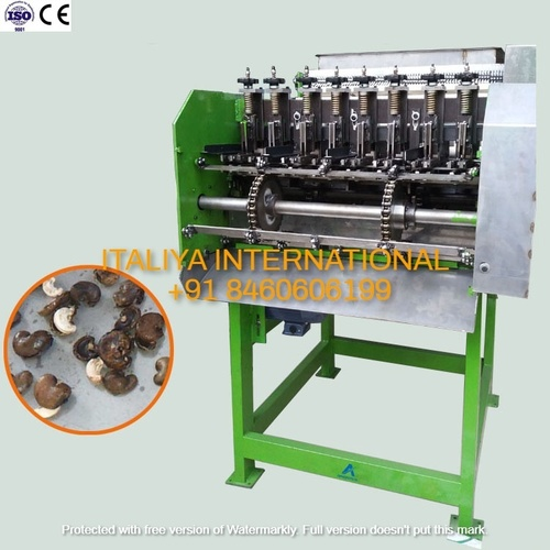 4 Blade Cashew Cutting Machine