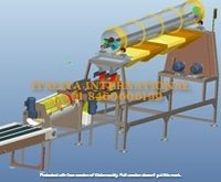 Double Head Cashew Peeling Machine