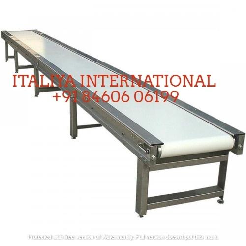 Material Handling Inclined Belt Conveyor