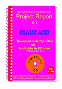Oxalic Acid manufacturing project Report ebook